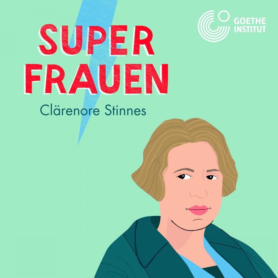 Episodencover Clärenore Stinnes